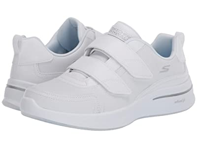 SKECHERS Performance Go Walk Steady Loy (White) Women