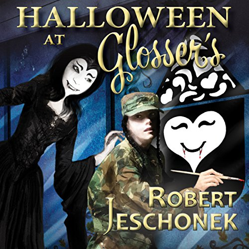 Halloween at Glosser's audiobook cover art