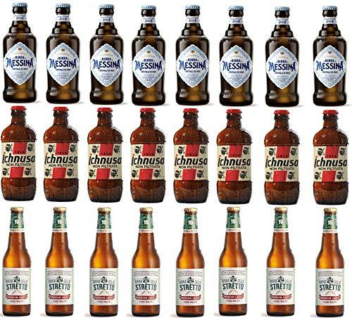 Sicilia Bedda - BOX DEGUSTAZIONE BIRRA ITALIANA - Birra dello Stretto Premium Lager - Birra Ichnusa...