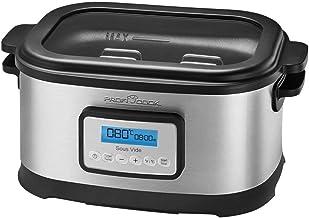 Profi Cook SV-1112 Sous Vide Spaarpan en Vacuüm voor Keuken Koken Bij Lage Temperaturen, 8,5 L, 520 W, Energieklasse A, 8,...