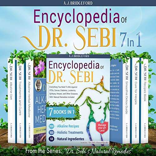 Encyclopedia of Dr. Sebi 7 in 1 cover art