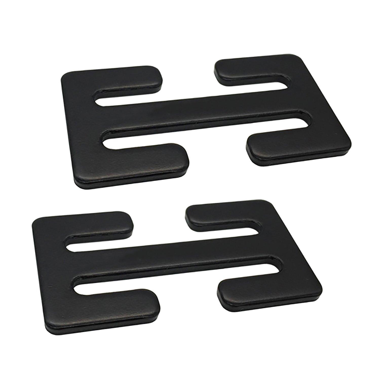 Sungrace 2 Pack Metal Lock(Black)