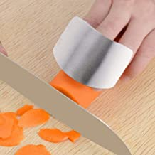 Finger Guard For Cutting Kitchen Tool Finger Guard Stainless Steel Finger Protector Avoid Hurting When Slicing and Dicing ...