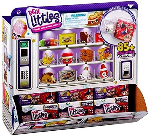Shopkins Real Littles Mini Pack 24pc Counter Display Case product image