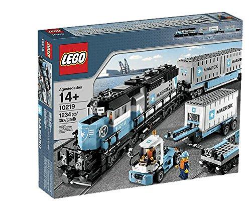 LEGO 10219 - Tren de mercancías Maersk