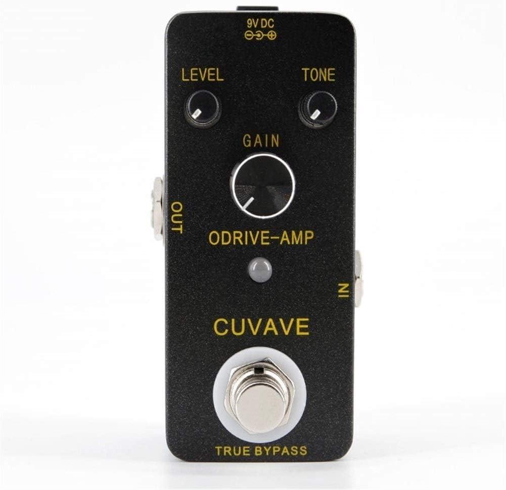 ODRIVE-amplificador de válvulas clásico Overdrive guitarra pedal de efectos de guitarra pedal mini bypass real de aleación de zinc Accesorios for guitarra