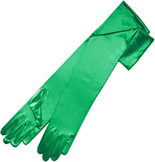 Ambers Very Long Satin Gloves