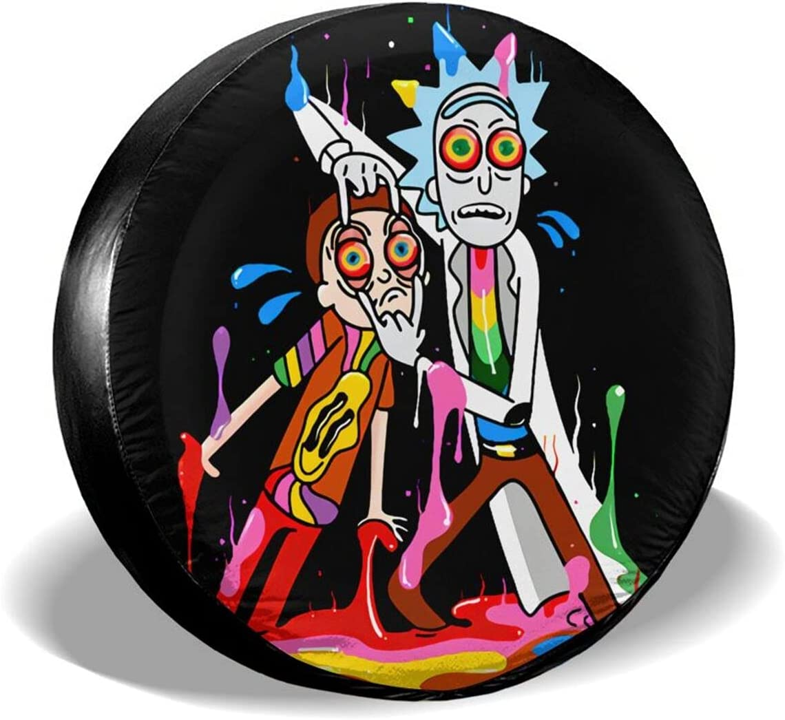 Rick and Recommendation Morty Spare Tire Cover Memphis Mall Protectors Dustproof Water Wheel