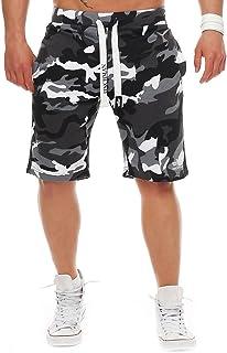 Finchman Men's Cotton Sweat Shorts Bermuda Sweat Pants
