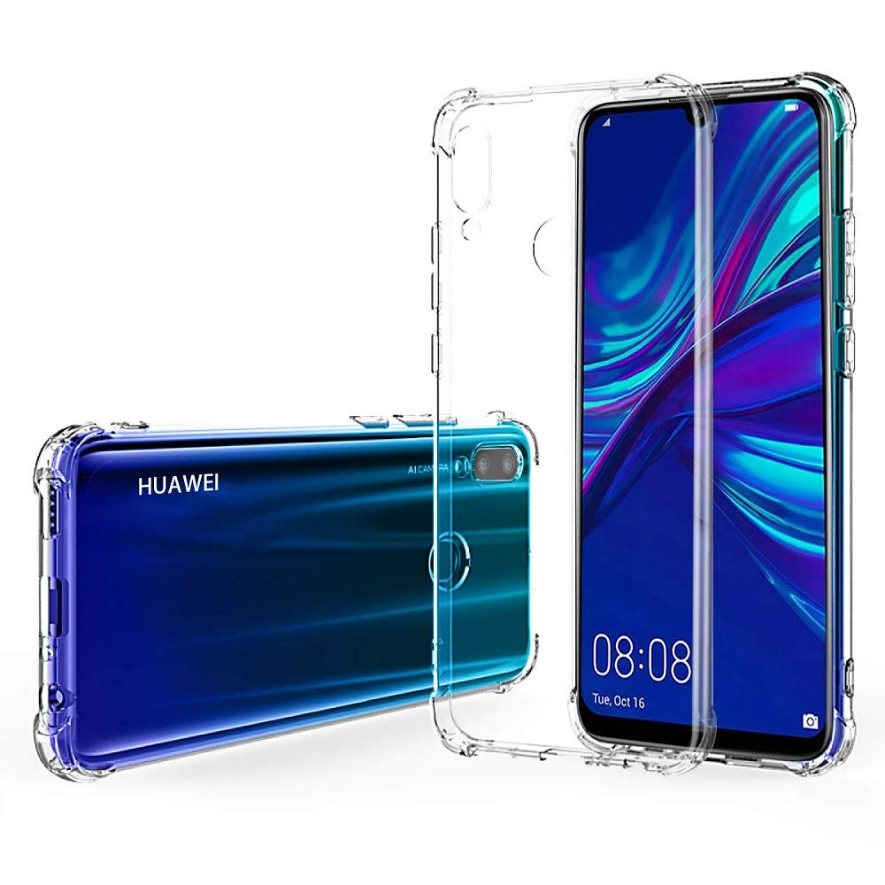 REY - Funda Anti-Shock Gel Transparente para Huawei P Smart Plus ...