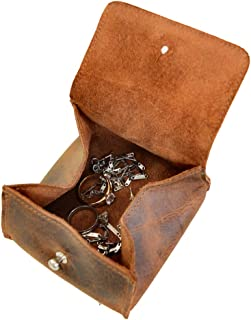 leather jewellery pouch