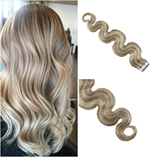 Best wavy tape in hair extensions before and after Reviews