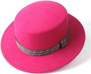 Outing Hat حجم 56-5. 8CM. أزياء الرجال النساء شقة الأعلى فيدورا قبعة تريلبي الكنيسة قبعة واسعة بريم الجاز قبعة سيدة fascin...