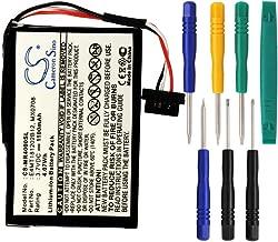 Cameron sino 1100mAh Li-ion Battery 37-00030-001, E4MT181202B12, MX0708 Replacement for Magellan Maestro 4000 4010 4000T 4040 4050 GPS Navigator with Tools Kit