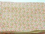 Babydecke - ERDBEEREN AUF ROSA - 100 x 70 cm - Baumwolle und Fleece - personalisierbar - Kuscheldecke/Krabbel-Decke für Babybett oder Kinderwagen - Geschenk Geburt Taufe Kindergarten