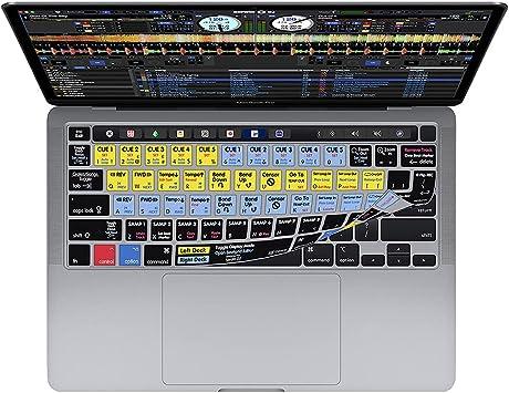 Cubierta del Teclado Serato DJ QWERTY, para MacBook Pro 13