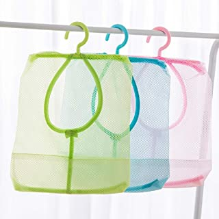 Reusable Produce Bags Kitchen Wall Hanging Portable Mesh Bag Eco Friendly Grocery Bag Holder Plastic Garbage