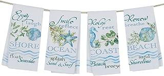 Kay Dee Designs R3078 Ocean Tide Tea Towels, Pack of 4  Assorted