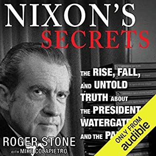 Nixon's Secrets audiobook cover art