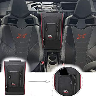Marverick X3 Between Seats Center Shoulder Console Storage Bag for Can am Maverick X3 XRS XDS Turbo R Max 2017 2018 2019