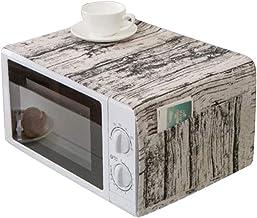 HHYK Horno microondas Cubierta de Polvo de Grano Horno microondas Cubiertas Cocina práctica Cubierta for Electrodomésticos Casa y jardín (Color : Light Grey)