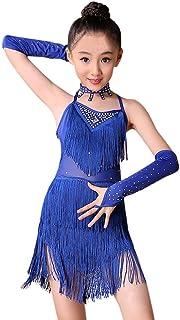 Vestito da danza latina per bambini tut/ù da balletto MoyuqiTM jazz