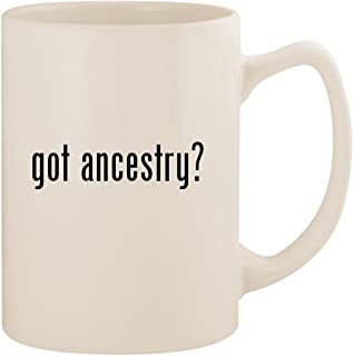 got ancestry? - White 14oz Ceramic Statesman Coffee Mug Cup