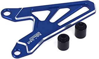 JFG RACING CNC Front Sprocket Cover Guard For Yamaha YZ250F YZ450F 14-17 YZ250FX 15-17 YZ450FX 16-17 WR250F 15-16 WR450F 16