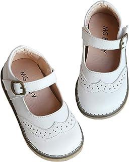 Sponsored Ad - DADAWEN Girl's Classic Mary Jane School Uniform Shoes Flat Dress Shoes