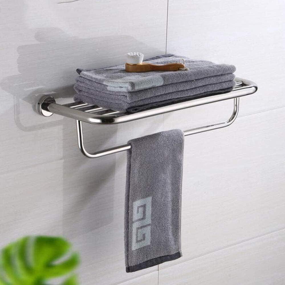 WGFGXQ Towel Superlatite Rack Shelf Max 60% OFF Bar Wall Rails Mo Screw