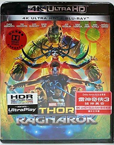 Thor: Ragnarok (4K UHD + Blu-ray) (Hong Kong Version / Chinese subtitled) 雷神奇俠3: 諸神黃昏