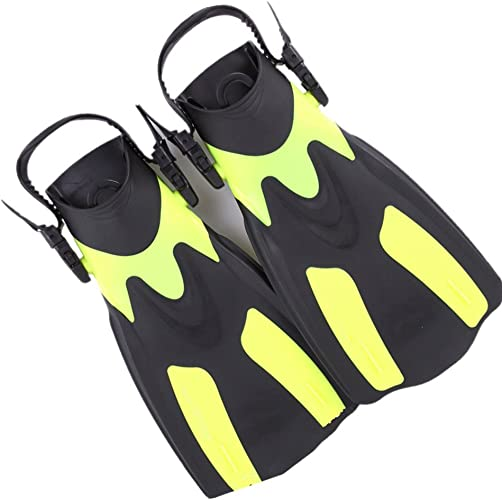 Dfghbn Palmes de plongée Palmes de plongée Palmes de plongée pour la Natation, la plongée en apnée, l'activité Aquatique Natation Unisexe Flippers Sports Nautiques (Taille   42-47)