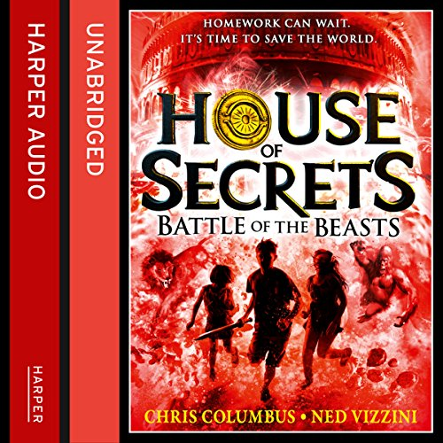 House of Secrets: Battle of the Beasts audiobook cover art