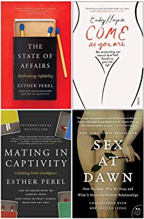 State of Affairs, Mating In Captivity, Come As You Are, Sex At Dawn 4 Books Collection Set