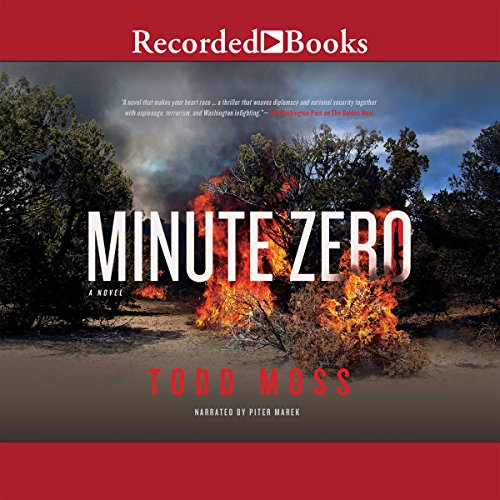 Minute Zero audiobook cover art