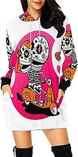 Graphic Design Women's Long Sleeve Hoodie Mini Dress