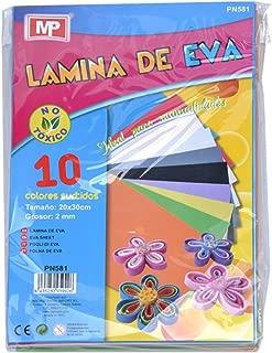 MP Eva - Pack de 10 gomas
