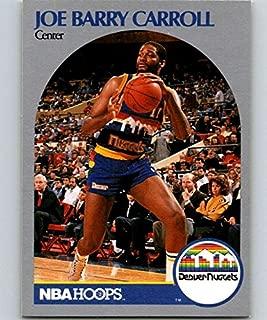1990-91 Hoops #92 Joe Barry Carroll SP Nuggets NBA Basketball