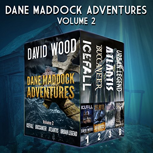 Couverture de The Dane Maddock Adventures: Volume 2