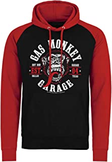 Hoodie Round Seal GMG Logo Official Mens Pullover