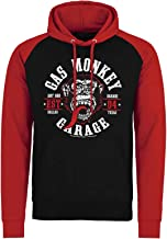 Gas Monkey Garage Hoodie Round Seal GMG Logo Official Mens Pullover