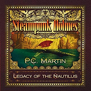 Steampunk Holmes audiobook cover art