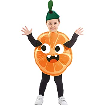 EUROCARNAVALES Disfraz de Naranja para niños y bebé: Amazon.es ...