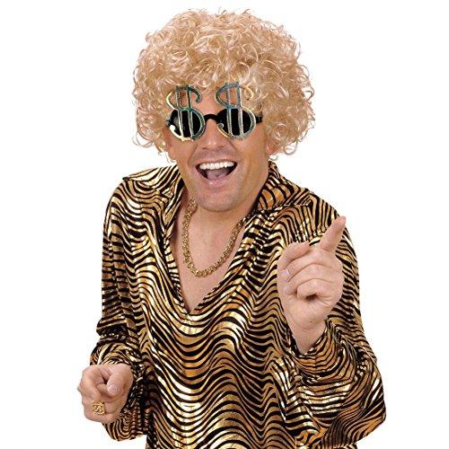 NET TOYS Lunettes en Dollar Lunettes de Soleil Dollar Lunettes Fantaisies Lunettes rigolotes Lunettes Dollar Lunettes de soirée Mardi Gras Carnaval