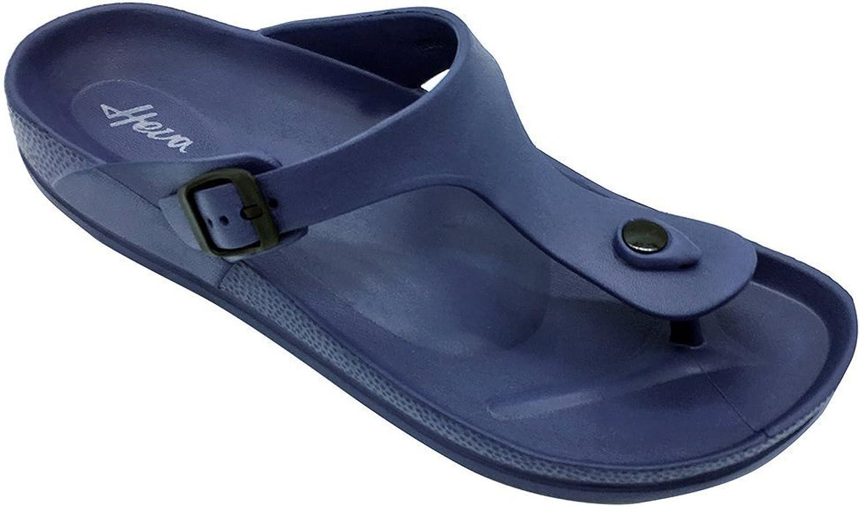 FUNKYMONKEY EVA Flip Flops Waterproof Adjustable Thong Sandals Mens Womens