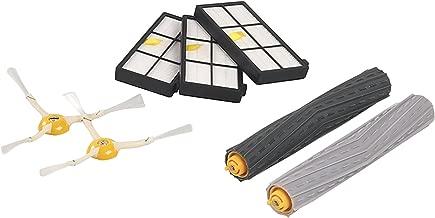 Gosear Extractores de escombros + filtros + cepillos Laterales Kit de Repuesto Piezas Set para iRobot Roomba 800 900 Series aspiradoras Robots 870 880 960 980