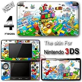 Super Mario 3D World SKIN VINYL STICKER DECAL COVER #1 for Nintendo 3DS