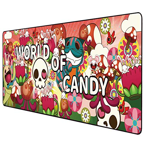 Anime Mouse pad Extended Large Gaming Mousepad...