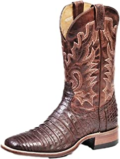American Boots - Cowboy Exotic (Alligator) BO-7533-65-E (Normal Walking) - Men - Brown