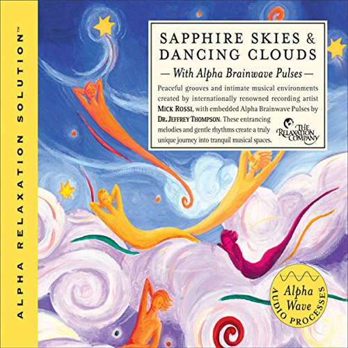 Sapphire Skies & Dancing Clouds audiobook cover art